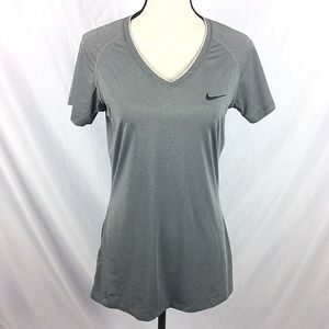 Nike Pro Dri-Fit Fitted V-Neck T-Shirt